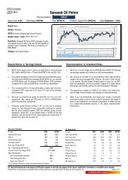 Sarawak Oil Palms - i3investor.com - a free and independent stock ...