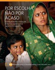Relatório sobre a Situação da População Mundial 2012