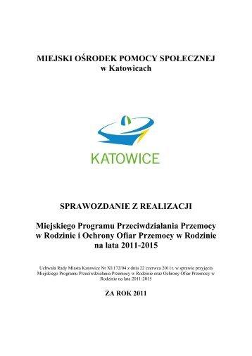 MIEJSKI OŚRODEK POMOCY SPOŁECZNEJ w ... - BIP UM Katowice