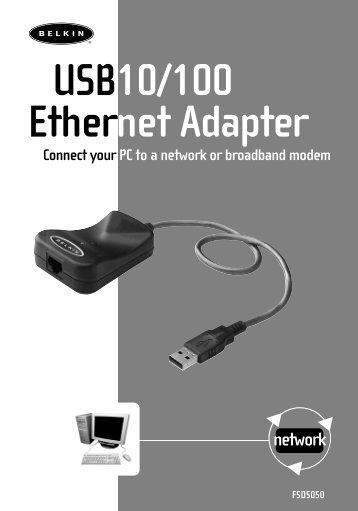 USB10/100 Ethernet Adapter