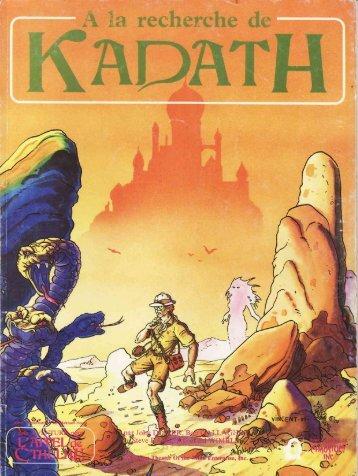 Cthulhu 1920 - A la recherche de Kadath.pdf - Index of - Free