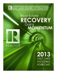 2013 Salt Lake Housing Forecast