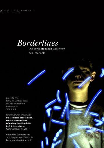Borderlines – Die vielen Gesichter des Internets - Xeophin