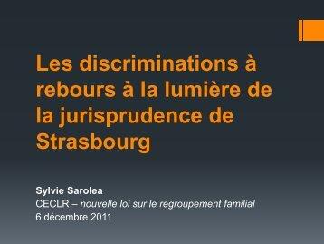 A Strasbourg?