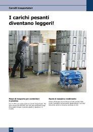 Carrelli trasportatori - Georg Utz AG, Svizzera - Die Utz Gruppe