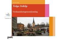 Ytterligare dokument - rapport - Södertälje kommun