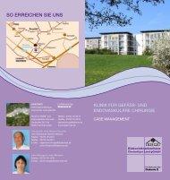 Klinik für Gefäss- und endovaskuläre Chirurgie (Case Management)