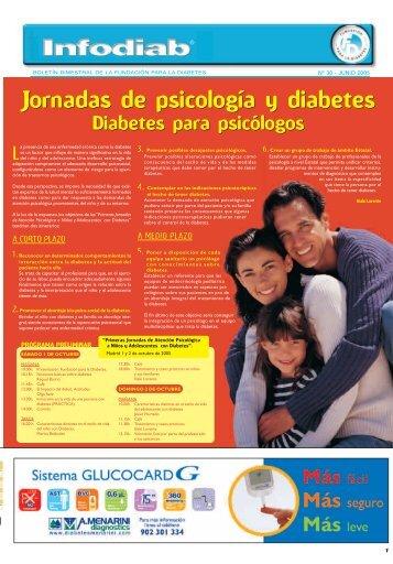 Jornadas de psicología y diabetes Jornadas de psicología y diabetes