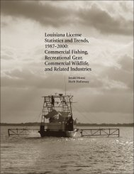 License Cover For Web PageMaker - Louisiana Fisheries