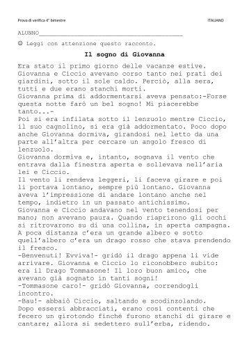 italiano - La Teca Didattica