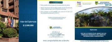 Brochure - Universidad Sergio Arboleda
