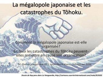 Croquis mégalopole japonaise - Histoire géographie Dijon