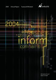 Comhairle's Annual Report 2004 - Citizens Information Board