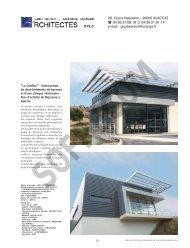 Menuiseries aluminium et bois - L'Architecture