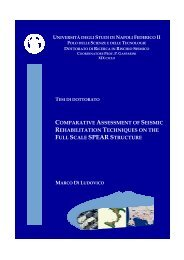 comparative assessment of seismic rehabilitation techniques on the ...