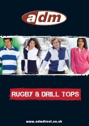 RUGBY & DRILL TOPS