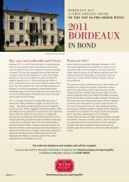 2011 BORDEAUX - The Wine Society