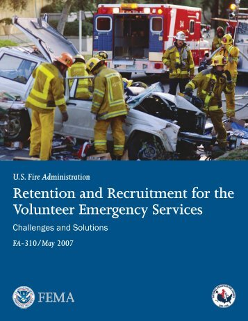 Retention and Recruitment for the Volunteer Emergency Services