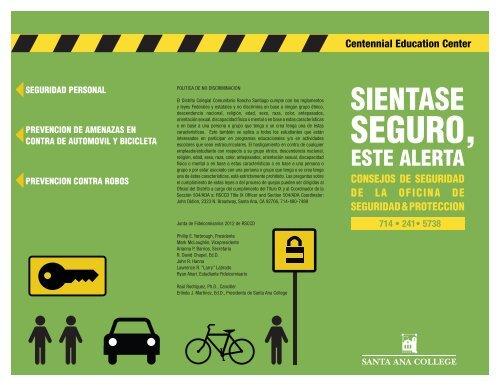 SEGURO, - Santa Ana College