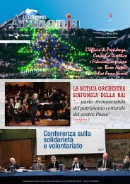 Armonia quinto numero anno 2011.