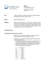 Päätös Nro 7/2012/2 Dnro LSSAVI/3/04.09/2012 Länsi- ja Sisä ...