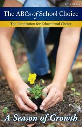 Download PDF - The Friedman Foundation For Educational Choice