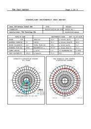 TSA TEST REPORT Page 1 Of 9 STREETLIGHT ... - TSA Tecnology