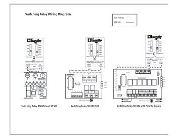 summer winter switch modine switching relay wiring diagrams