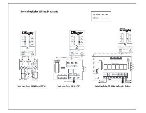 Switching Relay Wiring Diagrams
