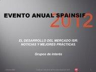 Presentación de D. Jesus Gonzalez (UGT) - Spainsif