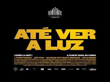 A FILM BY BASIL DA CUNHA ( APRèS LA NUIT ) - Makna Presse