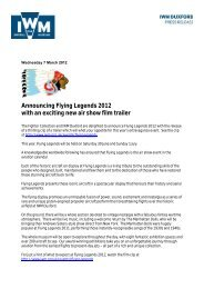 Announcing Flying Legends 2012 with an exciting new air show film ...