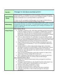 Skole-hjem-samarbejde - revideret