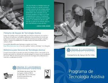 Programa de Tecnología Asistiva