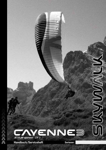 Handbuch/Serviceheft - Skywalk