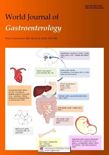 10 - World Journal of Gastroenterology