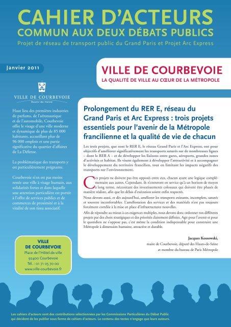 Télécharger le document - Débat Public Arc Express