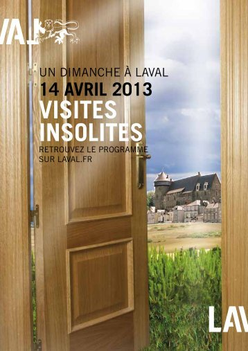 VISITES INSOLITES - Laval