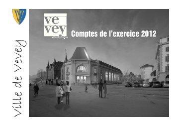 Commune de Vevey Comptes 2012