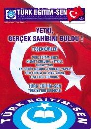 w w w . t u r k e g i t i m s e n . o r g . t r - Türk Eğitim-Sen