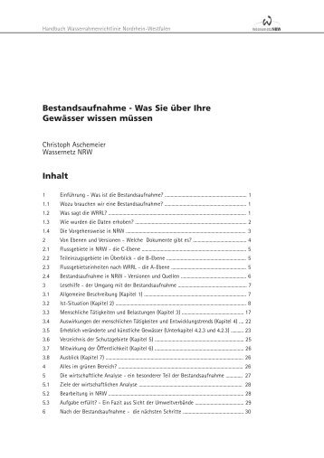 Kapitel 6 334,46 Kb - Wassernetz NRW