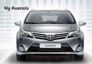 Ny Avensis - Toyota