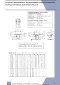 Technische Spezifikationen, Einschraubzapfen und ... - Seite 4