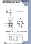 Technische Spezifikationen, Einschraubzapfen und ... - Seite 5