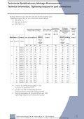 Technische Spezifikationen, Einschraubzapfen und ... - Seite 6