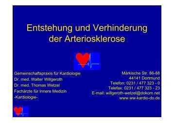 Entstehung und Verhinderung der Arteriosklerose - Ww-kardio-do.de