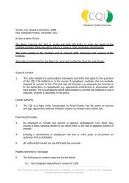 Version 2.0; Issued 2 December, 2009 Next scheduled review ...