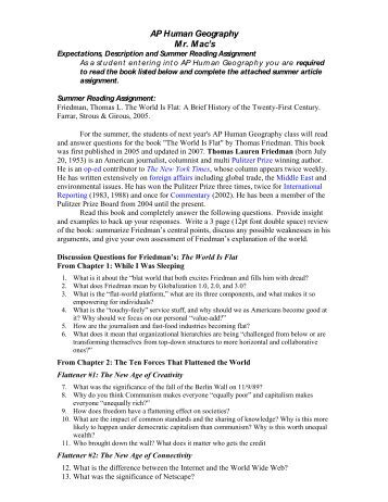 human geography essays Free essay: issamel velazquez human geo 4/12/13 p3 chapter 14 key issue 1 1 a resource is a substance in the environment that is useful to people, is.