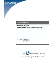 Model PS 3002 Electrophoresis Power Supply - Biometra