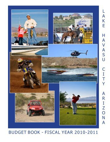 Budget Book 2011 - Lake Havasu City